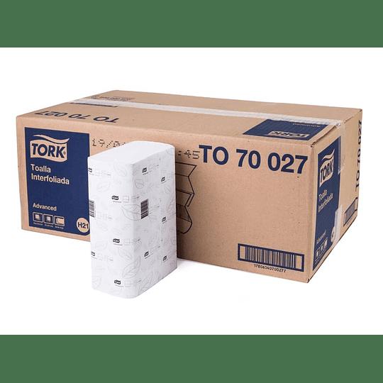 TOALLA DE PAPEL (16 PAQ X 200 HJ) D/H INTERF.TORK