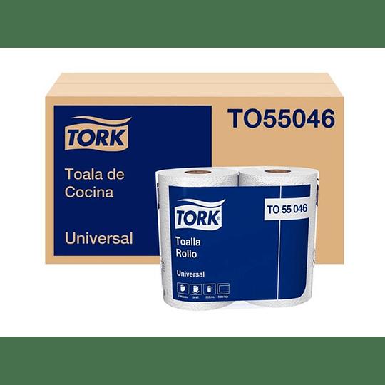 TOALLA DE PAPEL (16 ROLLO X 24 MT) TORK