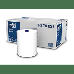 TOALLA DE PAPEL (6 ROLLO X 150 MT) D/H TORK