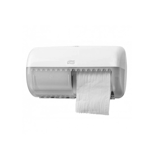 DISP. PAPEL HIGIENICO TWIN ELEVATION BLANCO TORK