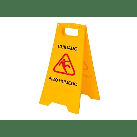 SEÑALETICA DE SEGURIDAD PISO MOJADO