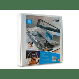 ARCHIVADOR BLANCO CARTA 2 AROS 1.5 P (370 HJS) WS