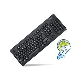 TECLADO ANTIDERRAME USB/PS2 K72444 KG