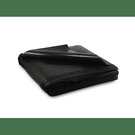 BOLSA BASURA 140X150 (10 UN) PLANA VTX NEGRA