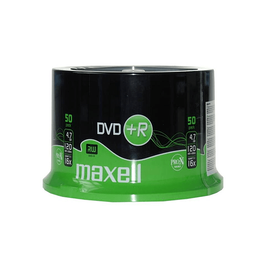 DVD+R (PACK 50 UN) 4.7 GB MAXELL
