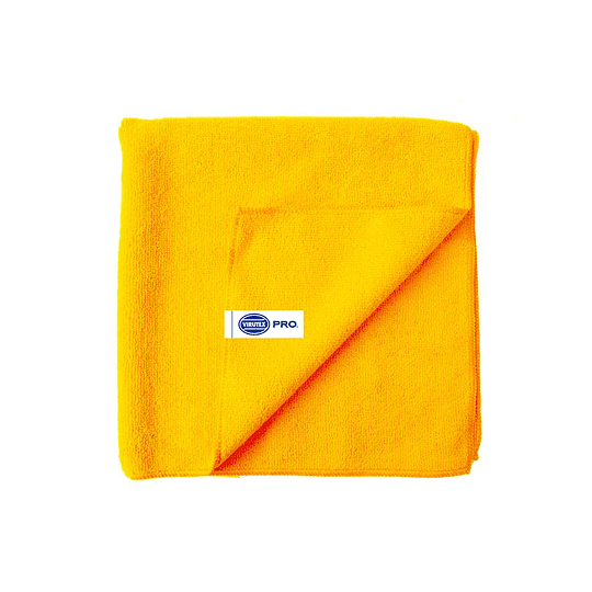 PAÑO MICROFIBRA COLOR AMARILLO SET 5 UN VTX PRO