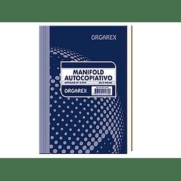 MANIFOLD AUTOCOPIATIVO TRIPLICADO N°21570 ORGAREX