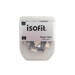 MAGIC-CLIPS REPUESTO BLISTER 40UD 27238-8 ISOFIT