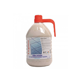 CERA PISOS PLASTICOS INCOLORA X 5 LTS VIRGINIA