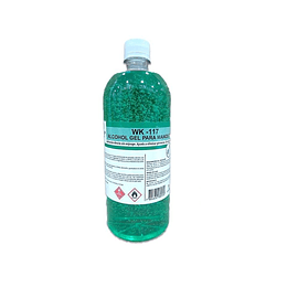ALCOHOL GEL BOTELLA 1 LITRO WINKLER