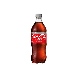 BEBIDA COCA COLA LIGHT BOTELLA 591 CC