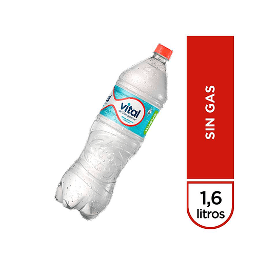 AGUAN MINERAL SIN GAS BOTELLA 1.6 LT VITAL