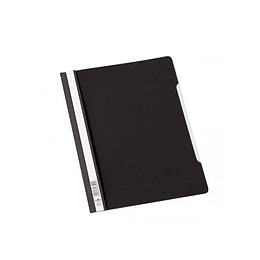 CARPETA CARTA FAST VINILICA NEGRA DURABLE