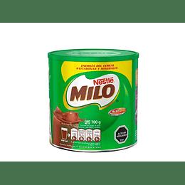 MILO EN POLVO TARRO DE 700 GRS