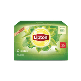 TE VERDE CLASSIC (CAJA X 20 BOLSITAS) LIPTON