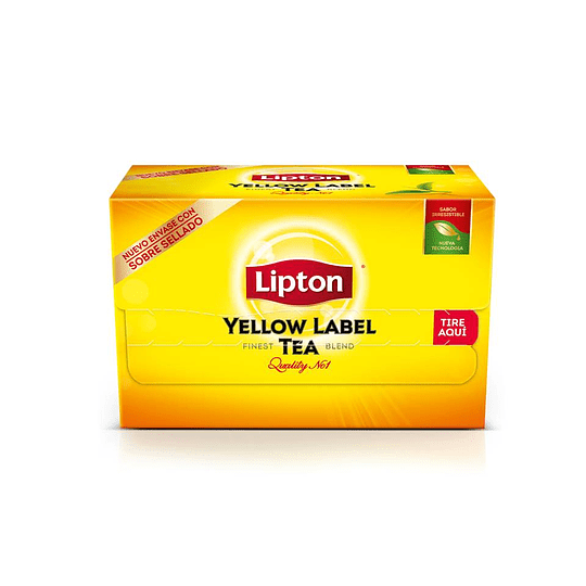 TE YELLOW LABEL (CAJA X 20 BOLSITAS) LIPTON