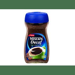 CAFE NESCAFE DESCAFEINADO FRASCO 170 GRS