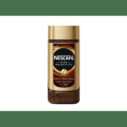 CAFE NESCAFE FINA SELECCION FRASCO 200 GRS