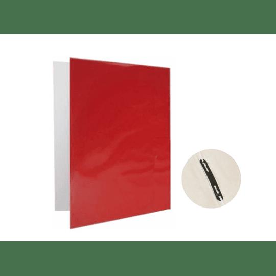 CARPETA PLASTIFICADA C/GUSANO ROJO PROARTE