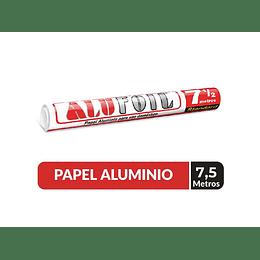 PAPEL ALUMINIO ALUFOIL 30 X 7,5 MT STANDARD