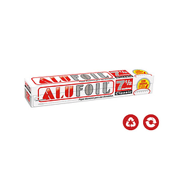 PAPEL ALUMINIO ALUFOIL 30 x 7.5 MT CLASSIC