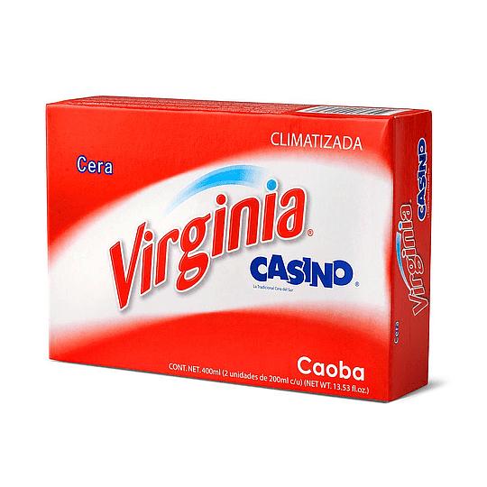 CERA CASINO CAOBA PAN 2x200 GRS VIRGINIA