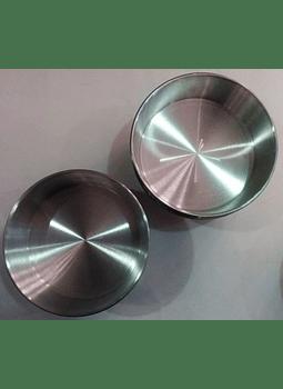 Molde redondo de aluminio 26.5 cm