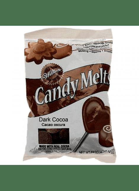 Dulce para derretir cacao oscuro 340 gr