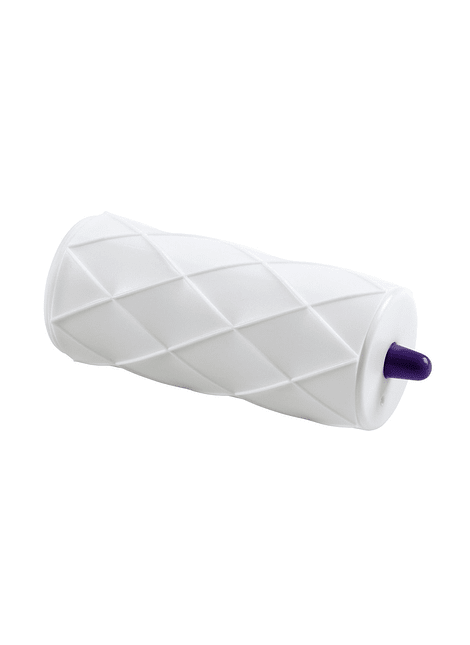 Rodillo para estampar fondant textura edredón