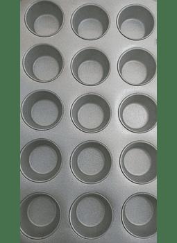 Placa muffin c/ 15 cavidades
