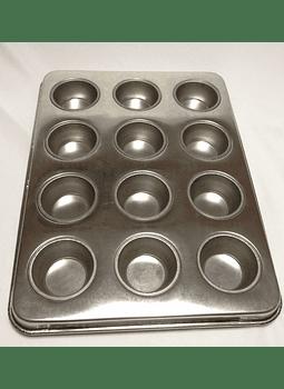 Placa para panqué mini 12 cavidades