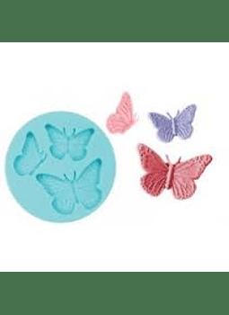 Molde de silicon Mariposas
