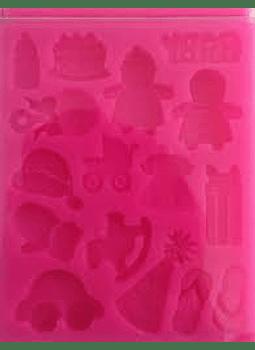 Molde de silicón baby shower Alegría