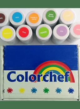 Color en pasta Colorchef 50g Negro