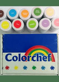Color en pasta Colorchef 50g Verde