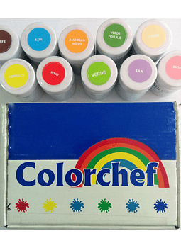 Color en pasta Colorchef 50g Verde