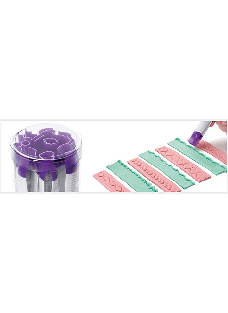 Set pinzas para fondant No.1 (10 piezas)