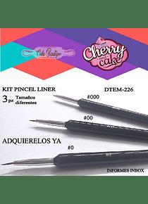 Pinceles Liner DTEM226