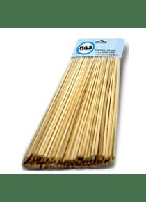 Palillo bambu (15 cm, 2.5 mm)