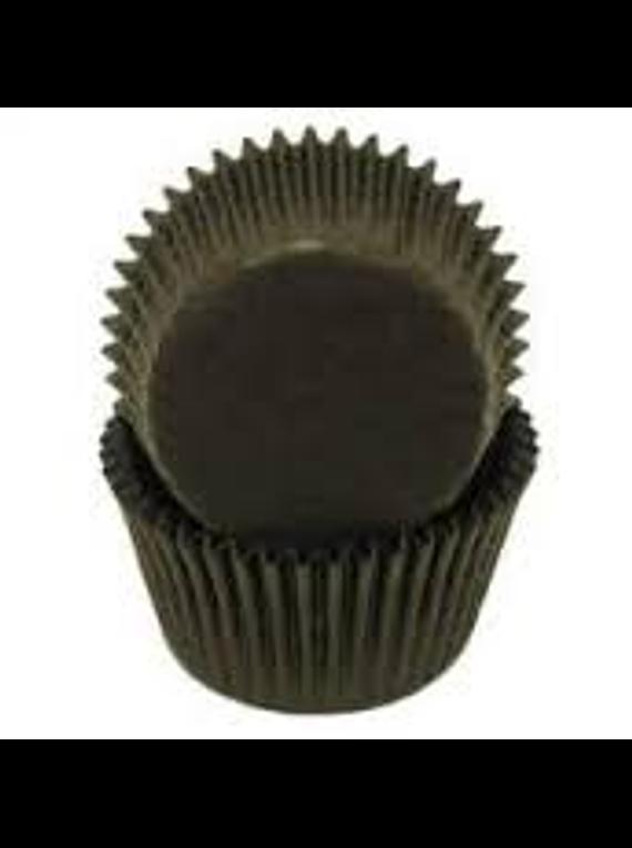 Capacillo negro 80 pz Muffin