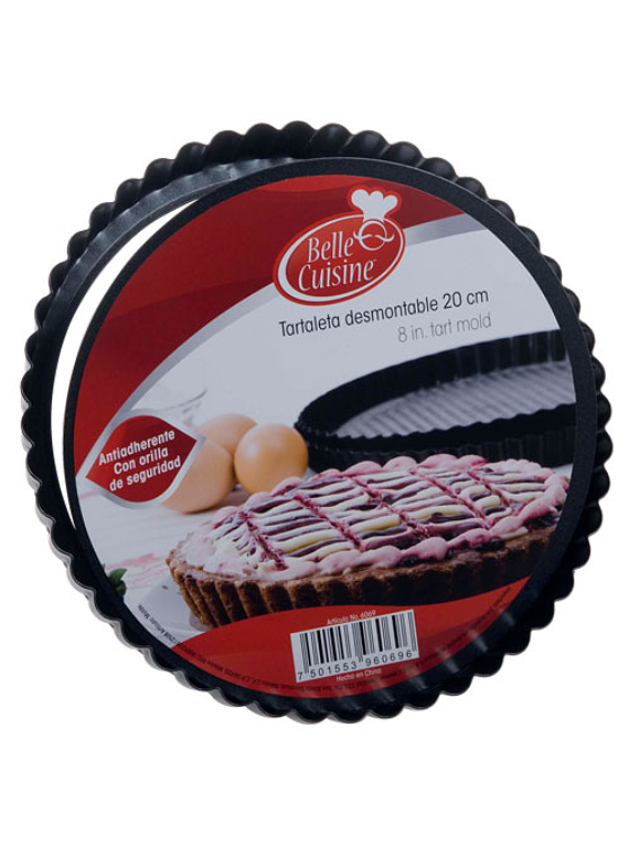 Tartaleta desmontable 20 cm