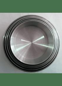 Molde redondo de aluminio 21 cm