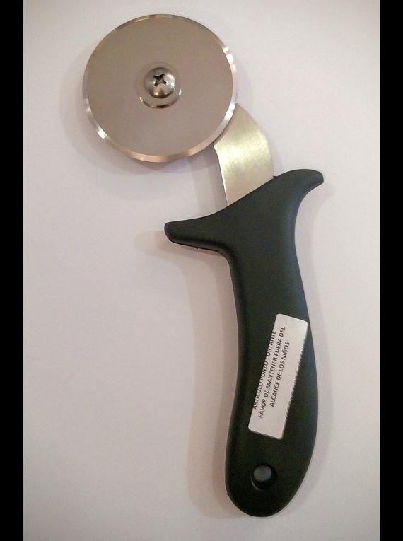 Cortador Pizza Diam. 6.25 cm con mango