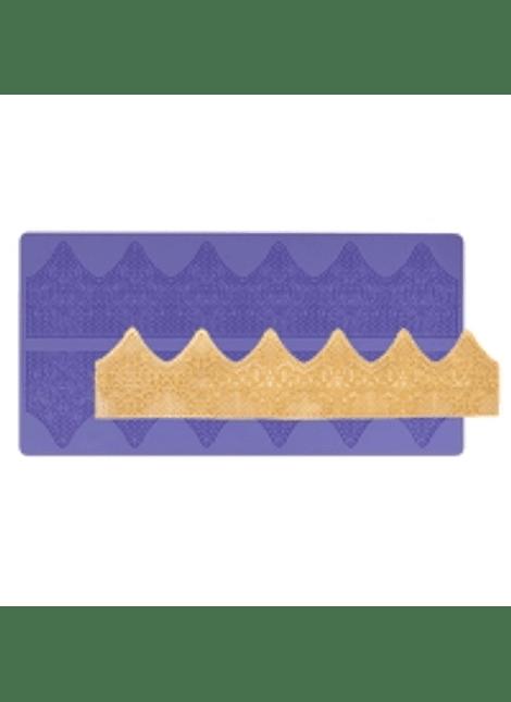 Cenefa silicón olanes brocados 38x19 cm