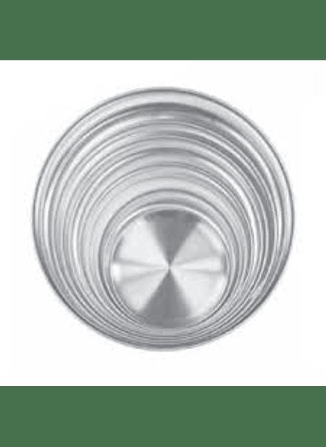 Charola aluminio 16cm