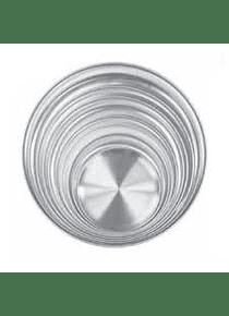 Charola aluminio 21cm