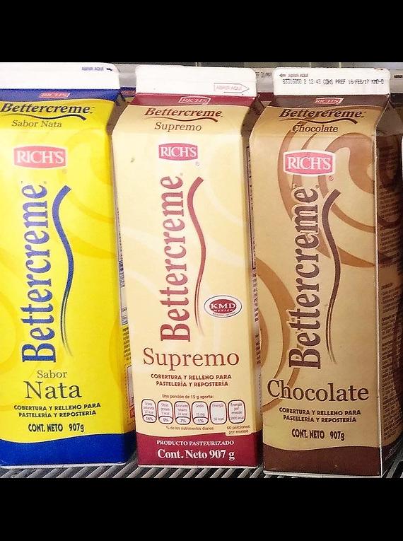 Bettercreme Chocolate Rich's 907 gr