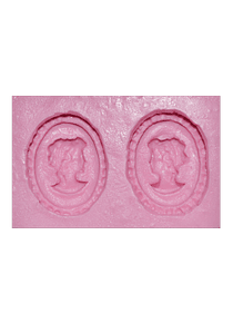 Molde de silicón Camafeo