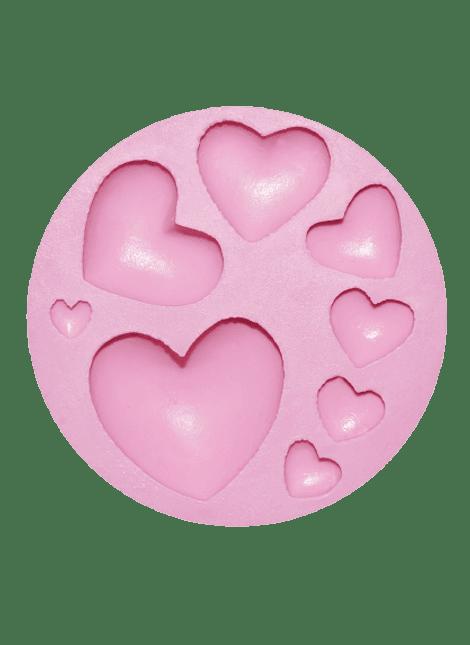 Molde corazones dif. tamaños MSC210