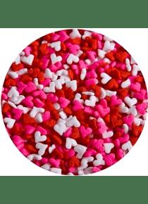 Confetti  figura corazón Kg